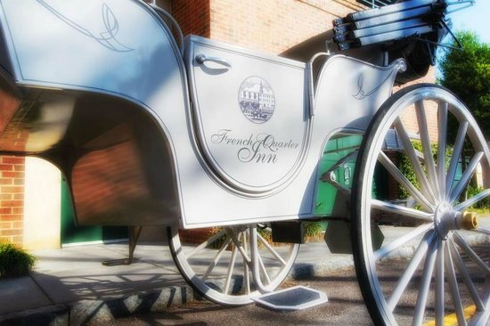 French Quarter Inn Private Carriage with Palmetto Carriage Works