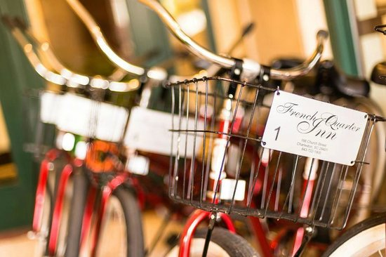 French Quarter Inn: Complimentary Bicycles for Guest use