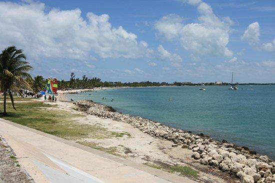 Bill Baggs Cape Florida State Park: una spiaggia all'interno del Bill Baggs Cape Florida SP