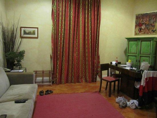 Caesar House Residenze Romane : living room
