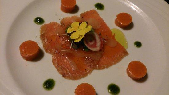 Restaurant l'Escarbot : Carpaccio de thon