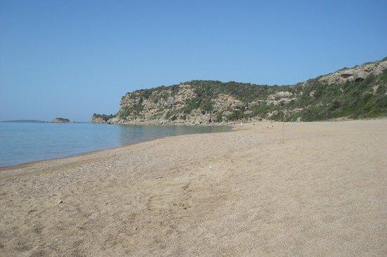 Paradise Resort: Άλλη μιά άποψη της παραλίας 100 μέτρα απο το ξενοδοχείο....