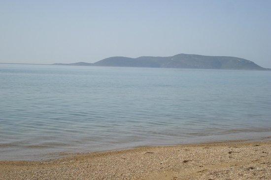 Paradise Resort: Η κοντινή παραλία, υπέροχη και φυσική ομορφιά.