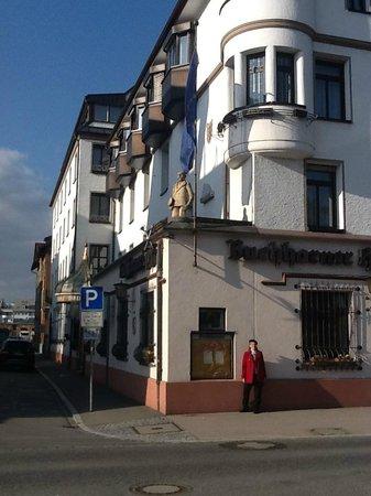Buchhorner Hof: The front of the hotel