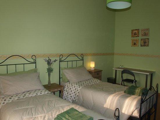 Pensione Duca : camera verde doppia