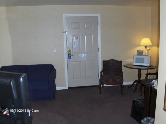 Comfort Inn: View from bedroom