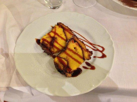 """Trattoria Al Bersagliere: Dessert """" Diplomatico"""""""