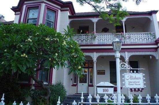 Alishan International Guest House: von außen