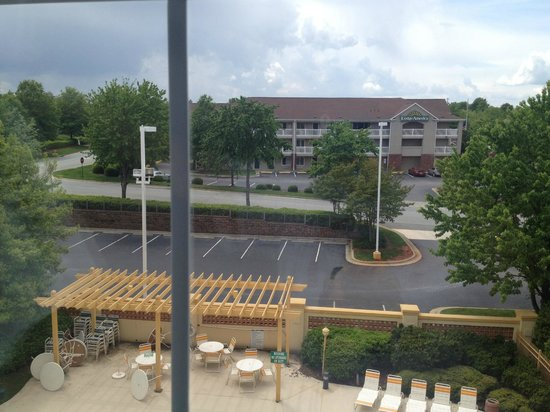 La Quinta Inn & Suites Greensboro: view from 4th floor.
