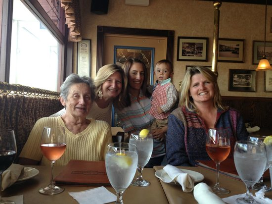 Medina Steakhouse & Saloon: Dining Room Seating - Happy Birthday Mom