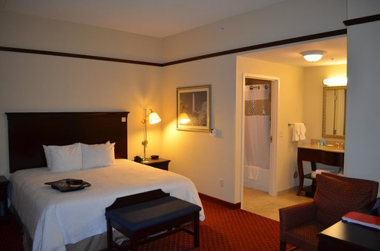 Hampton Inn & Suites Washington-Dulles International Airport : Our Room #140