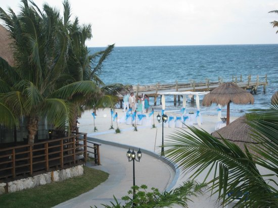Ocean Maya Royale: view from our room