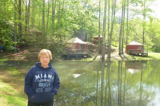 Falling Waters Adventure Resort: The Yurts