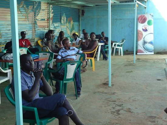 Sadili Oval Sports Academy: Sunday at the poolside is popular