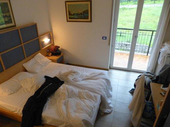 Hotel Toresela: Zimmer / Blick auf Balkon