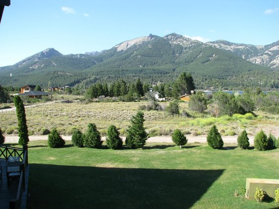 Amancio Hotel: Vista Cordillera de Los Andes