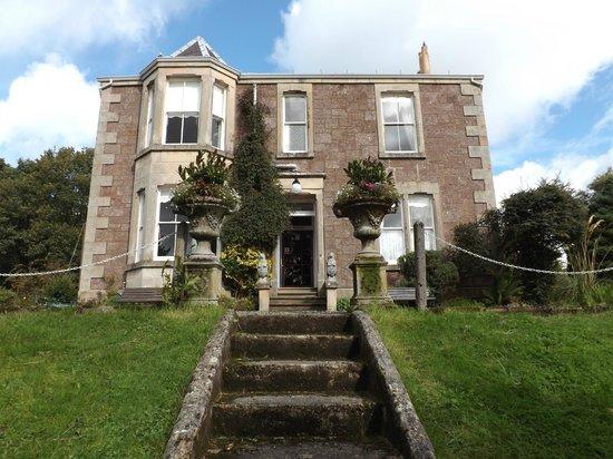 Arden House, Callander: House from the Garden