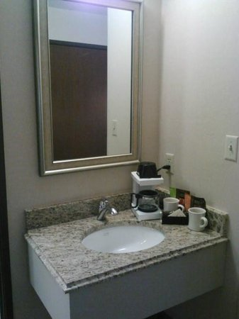 Inn at Saint Mary's Hotel & Suites: Sink area outside bathroom