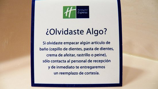 Holiday Inn Express Guanajuato : Cortesia
