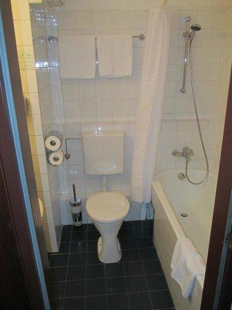 Alexander Hotel: Чистая туалетная комната :-)