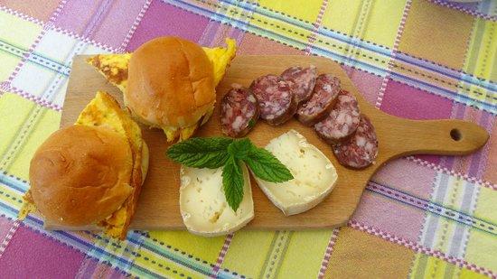 B&B Melizio: Petit déjeuner (suite)
