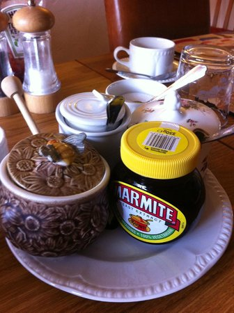 Hill Cottage Crowborough: Yummy jams and honey and of course Marmite!!