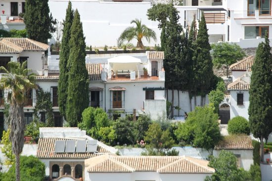 Las Tres Terrazas vue de l'Alhambra