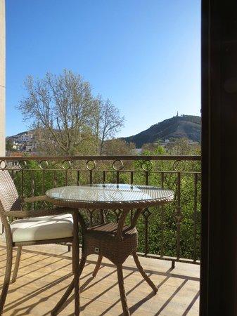 Hotel Alfonso VIII de Cuenca: La terraza