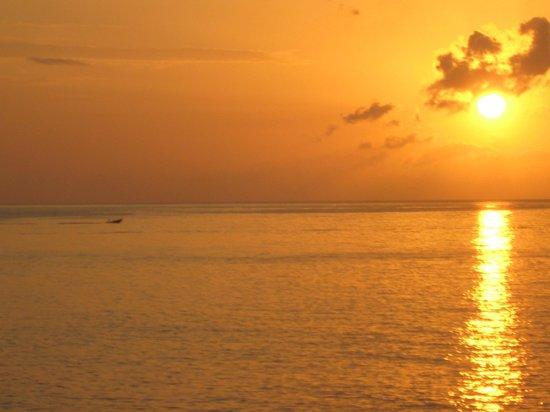 Xtabi Resort : Beauty sunset