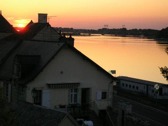 La Basinierre : coucher de soleil d'été
