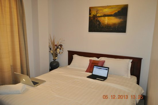 SP Vientiane Hotel : Double Bedroom
