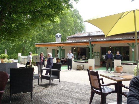 La Brasserie de la Repentie: terrasse