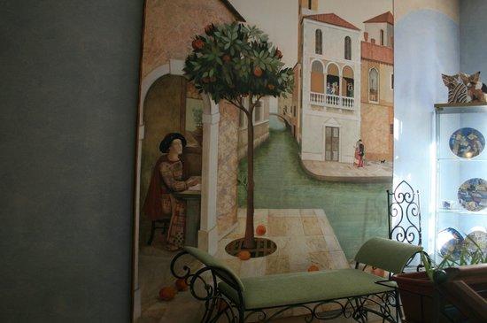 Art-hotel Trezzini: В холле отеля
