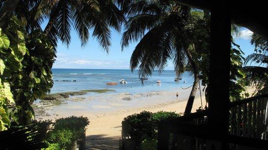 Hotel Gerard et Francine: vue sur la plage