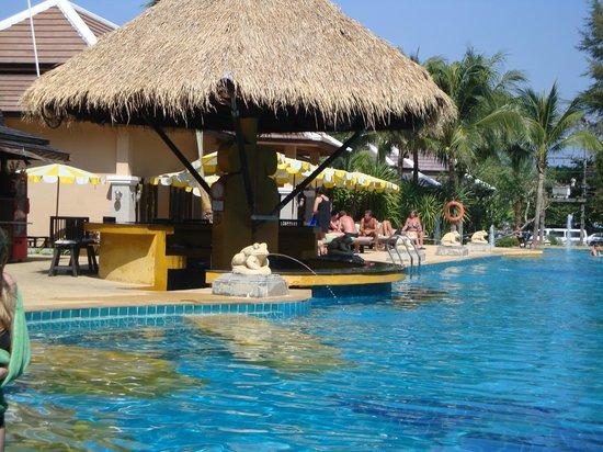 Print Kamala Resort: Poolen
