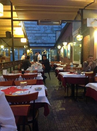 Nevizade Restaurant: Drinks and appetizers on the Teras