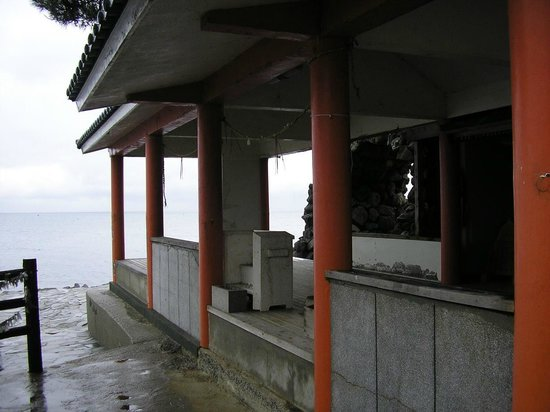 Nagasu-machi, Japan: 粟島神社。