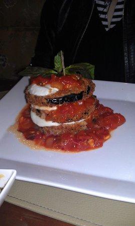 Roberts Restaurant at the Omni Shoreham: Eggplant Parm