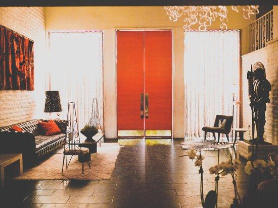Parker Palm Springs hotel entrance doors. & hotel entrance doors. - Picture of Parker Palm Springs Palm Springs ...