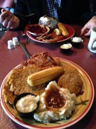 Ramsey's Diner: Chicken dish entree