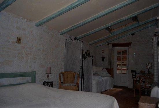 Les Jardins Saint Léonard : La chambre de la lanterne
