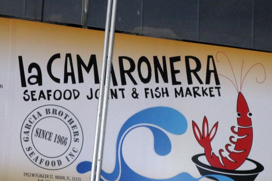 Great lunch foto di la camaronera fish market miami for Fish market miami