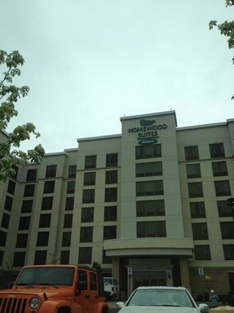 Homewood Suites by Hilton Toronto Airport Corporate Centre: front