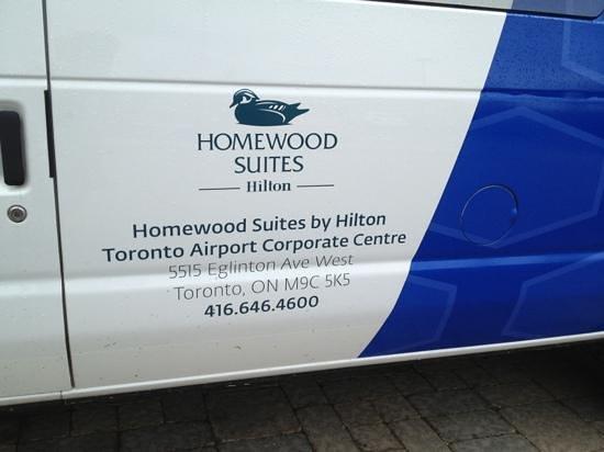 Homewood Suites by Hilton Toronto Airport Corporate Centre : shuttle van