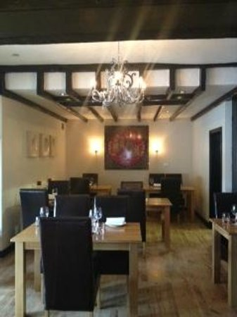 The Winkfield Inn: Oriental restaurant