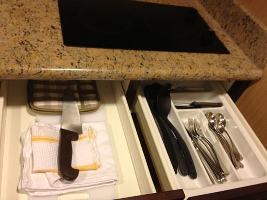 Homewood Suites by Hilton Toronto Airport Corporate Centre: utensils