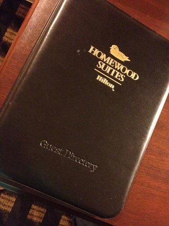 Homewood Suites by Hilton Toronto Airport Corporate Centre: welcome binder