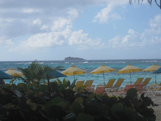 view from Mr. Busby's Beach Bar