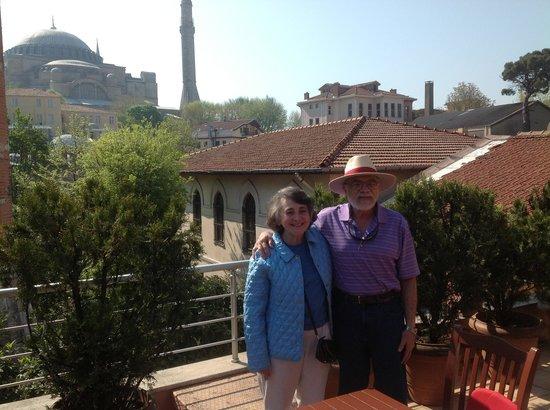 Zeynep Sultan Hotel : May2013 at the Zeynep
