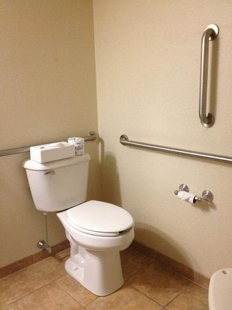 Holiday Inn Express Hotel & Suites Williamsport: bathroom